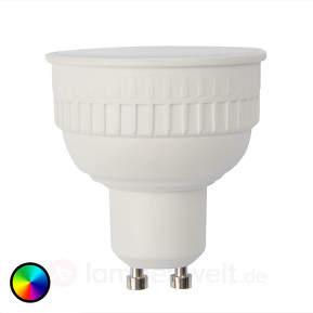 LED-Lampe LOLA GU10 6W, RGB, 450 Lumen