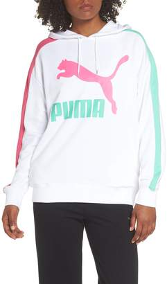 Puma Classics T7 Logo Hoodie Sweatshirt