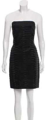 Calvin Klein Pleated Bodycon Dress