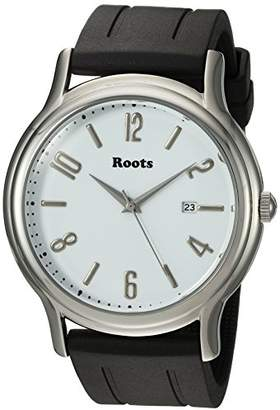 Roots ' Core' Quartz Stainless Steel and Rubber Casual Watch