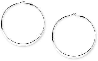 "Nine West 2-3/4"" Hoop Earrings"