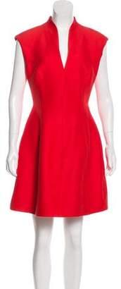 Halston A-Line Mini Dress