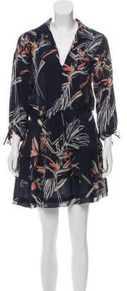 Maiyet Silk Printed Mini Dress