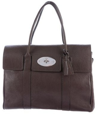 Mulberry Leather Bayswater Bag $425 thestylecure.com