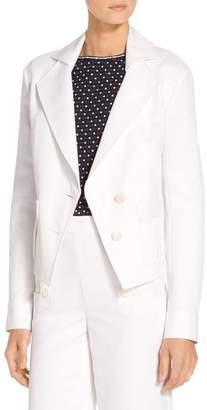 St. John Luxe Cotton Jacket