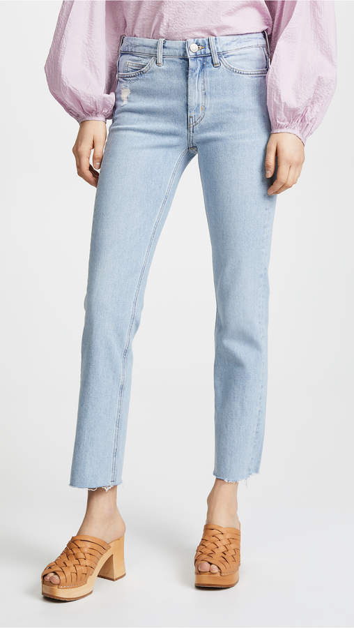 The Daily High Rise Straight Jeans