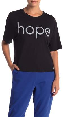 THE PHLUID PROJECT Hope Cropped Graphic Tee