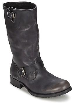 NDC BIKER MID R CAMARRA SLAVATO women's High Boots in Black