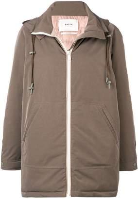 Bally hooded short coat