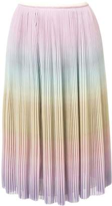 Marco De Vincenzo micro pleated skirt