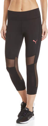 Puma Take Flight Mesh Capri Leggings
