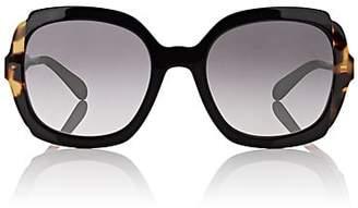 Prada Women's Oversized Square Sunglasses - Black