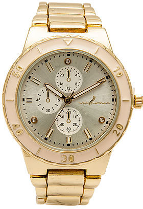 *MKL Accessories The Gemma Watch in Gold and Pink