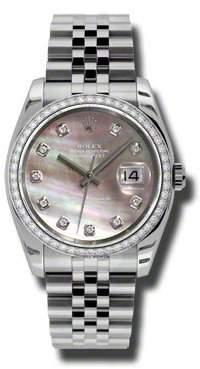 Rolex Oyster Perpetual Datejust Stainless Steel Jubilee Men's Watch 116244BMDJ