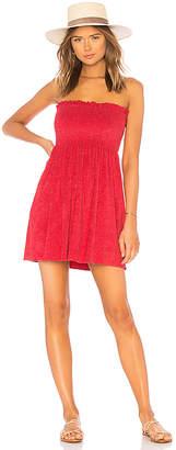 Indah Mercy Strapless Mini Dress