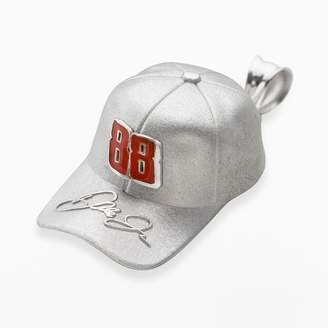 "Insignia Collection NASCAR Dale Earnhardt Jr. Sterling Silver ""88"" Baseball Cap Pendant"