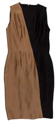 Martin Grant Silk-Blend Mini Dress