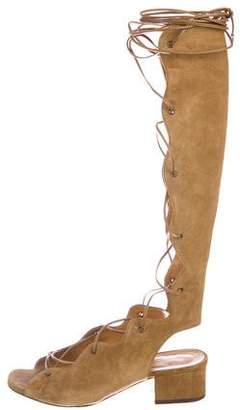 Saint Laurent Babies Ghillie Sandals