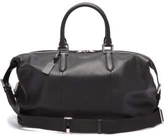 Smythson Burlington Leather Briefcase - Mens - Black