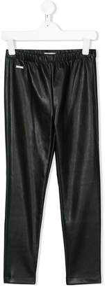 DSQUARED2 faux leather leggings