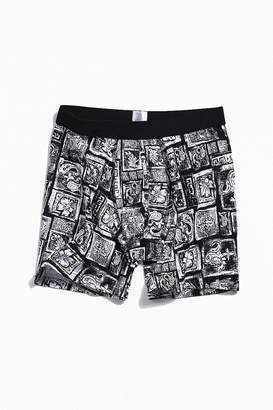 Urban Outfitters Blocked Paisley Boxer Brief