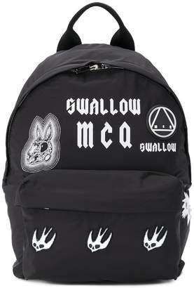 McQ Swallow patch backpack
