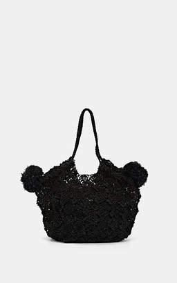 936469f1a0f Ulla Johnson Women s Lalo Mini Straw Tote Bag - Black