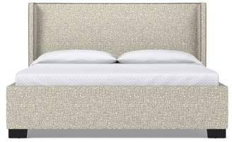 Apt2B Everett Upholstered Bed EASTERN KING in STRAW - CLEARANCE