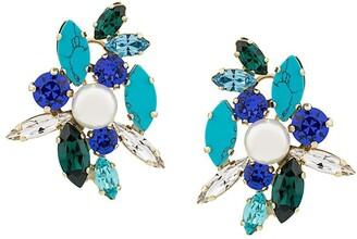 Shourouk Swarovski crystal earrings