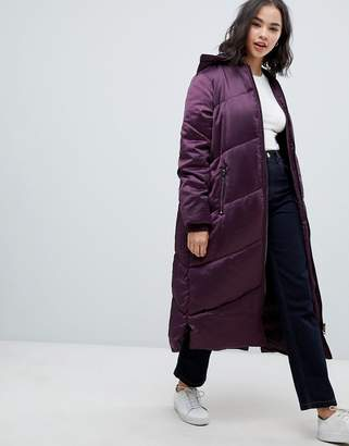 Asos Longline Puffer Coat
