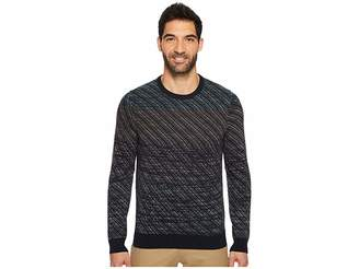 Perry Ellis Ombre Jacquard Crew Sweater Men's Sweater