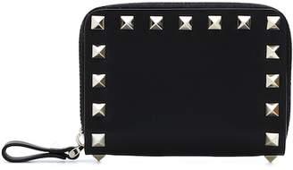 Valentino (ヴァレンティノ) - Valentino Garavani Rockstud Small leather wallet