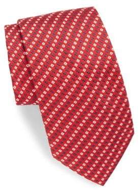 Brioni Mini Printed Silk Tie