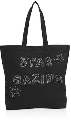 Whistles Star Gazing Canvas Tote