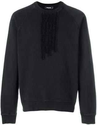 DSQUARED2 ruffle-trimmed sweatshirt