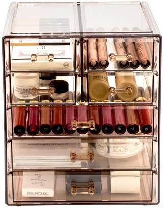Sorbus Makeup Storage Case - Brown
