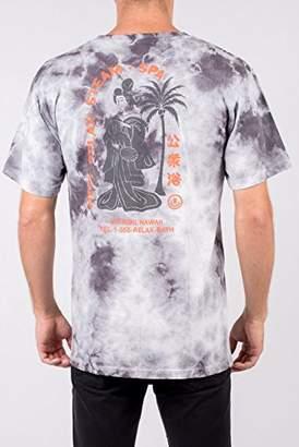Neff Men's Steam Bath Wash Short Sleeve Tee Shirt