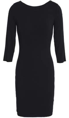 Bailey 44 Lace-up Jersey Mini Dress