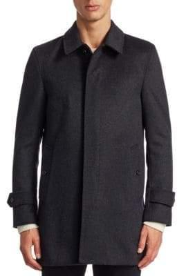 Burberry 2-in-1 Textured Topcoat