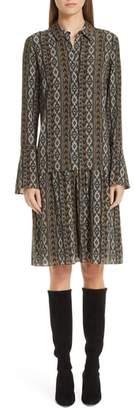 Lafayette 148 New York Sansa Kilim Silk Dress