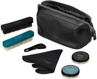 Ted Baker Shoe Shine Kit - Black Brogue Monkian