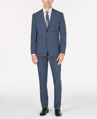 Perry Ellis Premium Men's Slim-Fit Stretch Tech Suit, Machine Washable