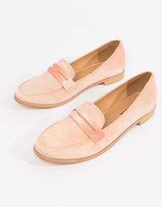 Vero Moda suede loafers