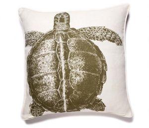 Thomas Paul Turtle Linen Pillow