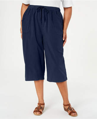 Karen Scott Plus Size Kiera Capri Pants