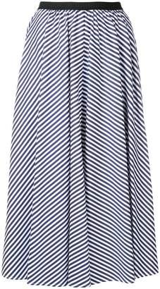 Antonio Marras striped pleated skirt