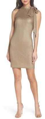 Mac Duggal Tie Neck Body-Con Dress