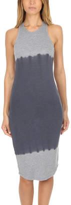 Monrow Tie Dye Sporty Tank Dress