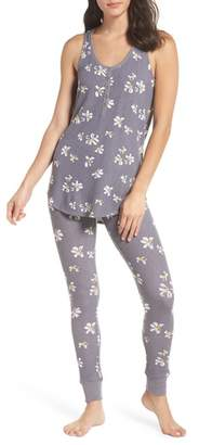 Make + Model Cozy Brushed Hacci Pajamas