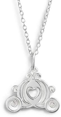 Disney Princess Cinderella Carriage Pendant Necklace